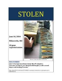 Missing gun Poster 14-11 copy