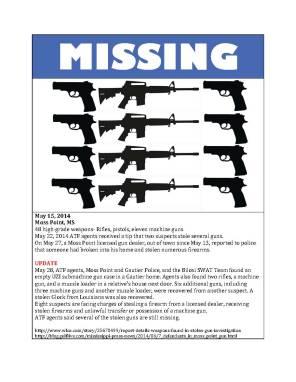Missing gun poster 14-9 copy